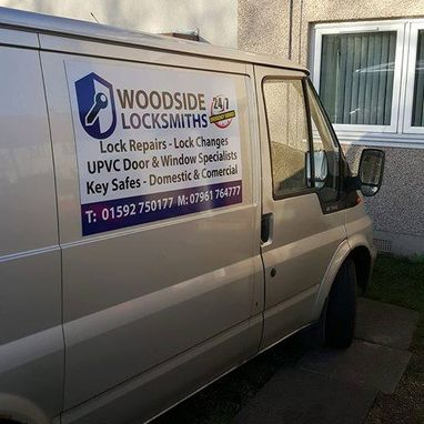 Woodside Locksmiths Company Van